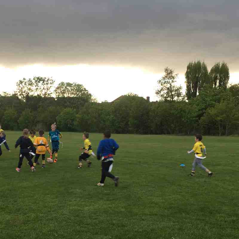 Midweek training 25/04/18