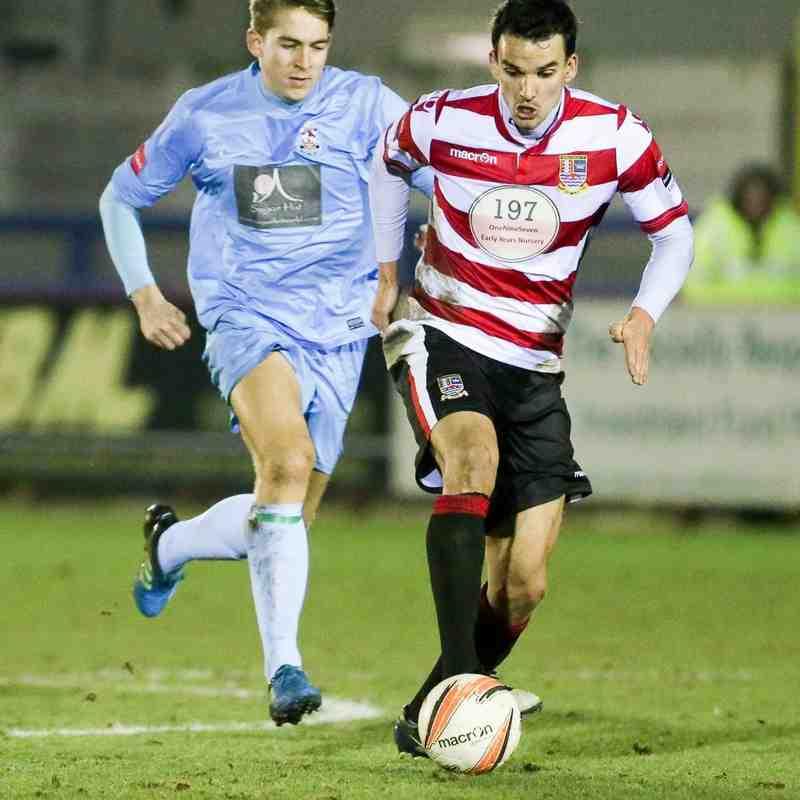 Kingstonian FC 4-0 Brentwood Town