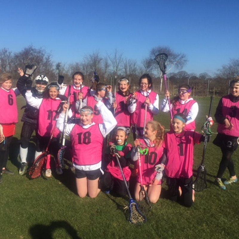 U13 win at home for W4 V Caterham Cougars