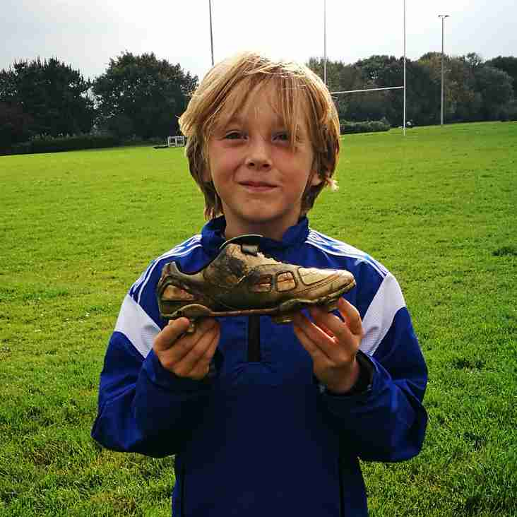 Under 9s Golden Boot winner this week...