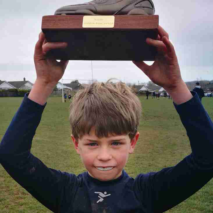 Under 9s Golden Boot  Supremo this week is...