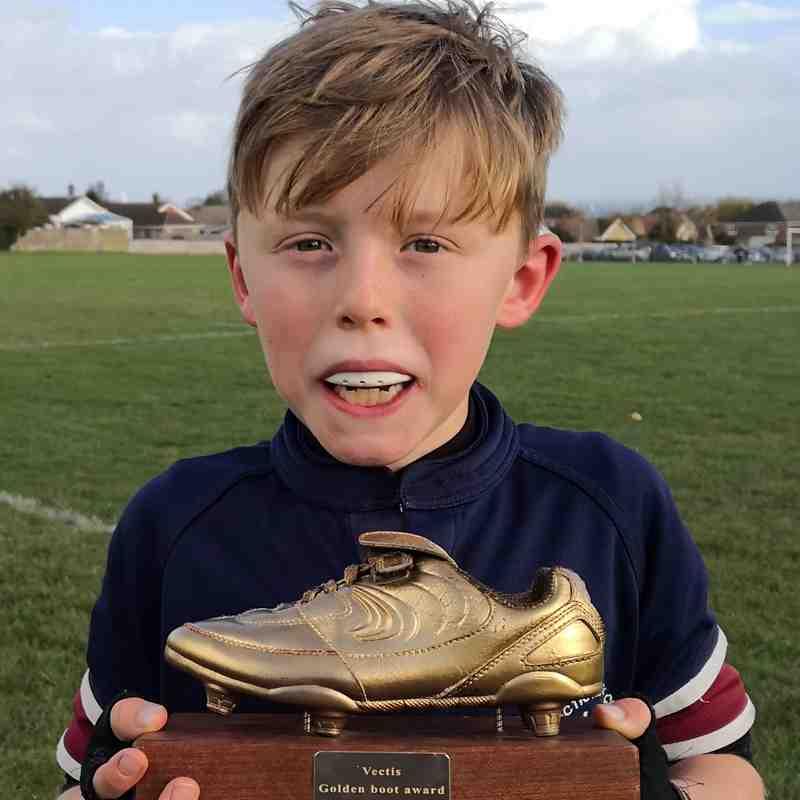 U10s Golden Boot Winners 2018-19