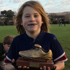 U10s Golden Boot Winners 2018-19