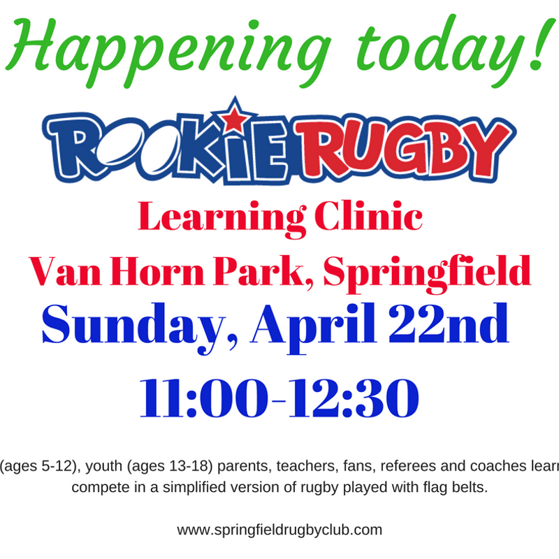 Rookie Rugby Today!