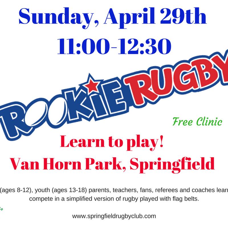 Sunday, Sunday, Sunday! Rookie Rugby
