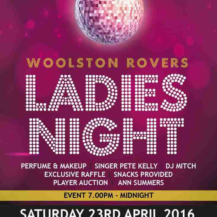 Woolston Rovers Ladies Night