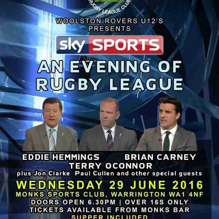 SKY SPORTS : AN EVENING OF RUGBY LEAGUE