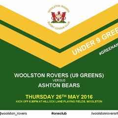 WOOLSTON ROVERS (U9 GREENS) v ASHTON BEARS