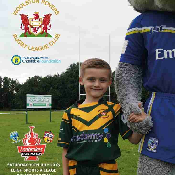 CHALLENGE CUP SEMI FINAL : WARRINGTON WOLVES v WAKEFIELD TRINITY WILDCATS