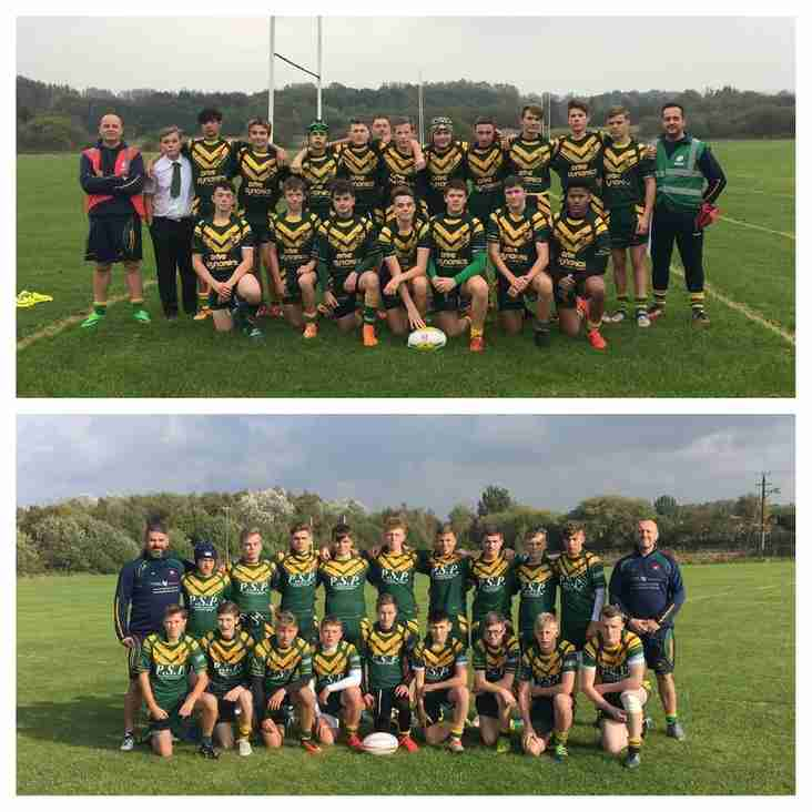 MIXED FORTUNES FOR BOTH ROVERS UNDER 14s SIDES AT NWC FINALS DAY