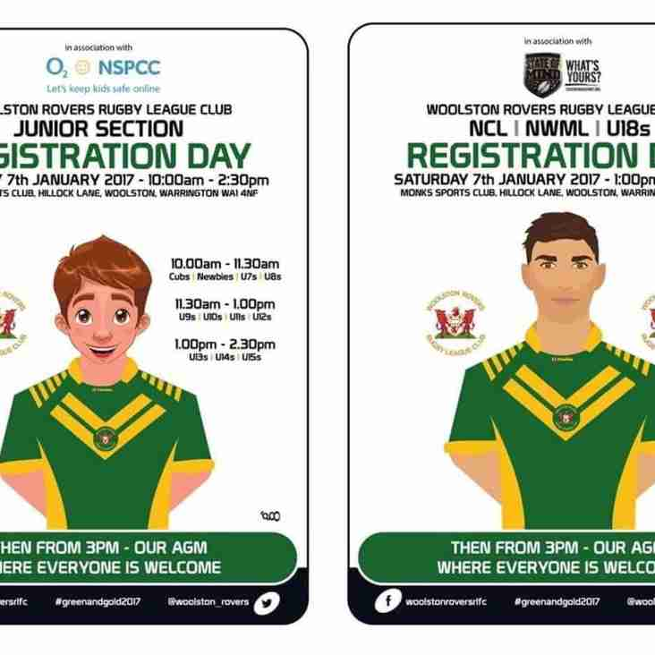 ROVERS HOLD REGISTRATION DAY AHEAD OF 2017 CAMPAIGN