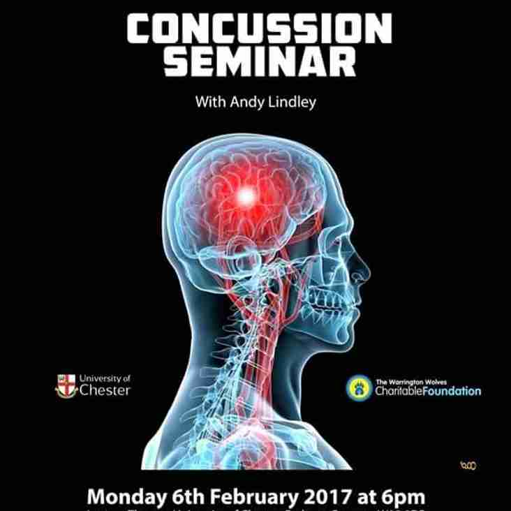ROVERS USING THEIR HEAD WITH CONCUSSION SEMINAR