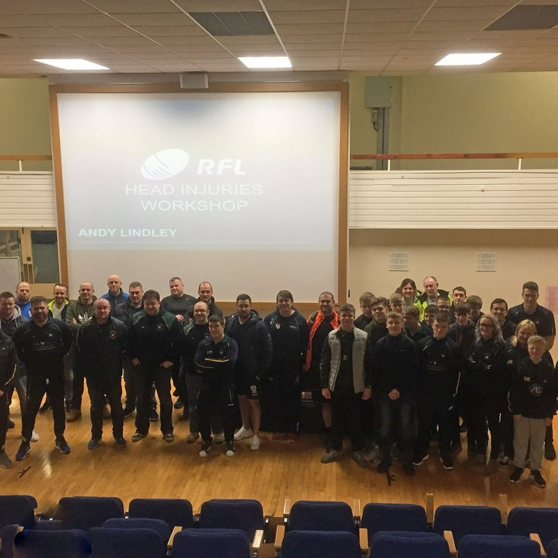 ROVERS USE THEIR HEAD WITH CONCUSSION WORKSHOP