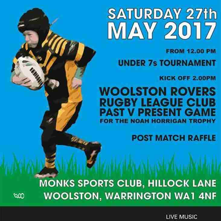 WOOLSTON ROVERS HOLD 3rd CHARITY DAY FOR RONALD McDONALD HOUSE