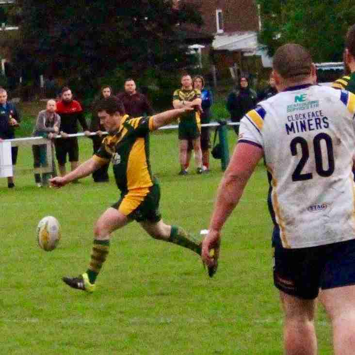 WOOLSTON ROVERS 17 CLOCK FACE MINERS 16