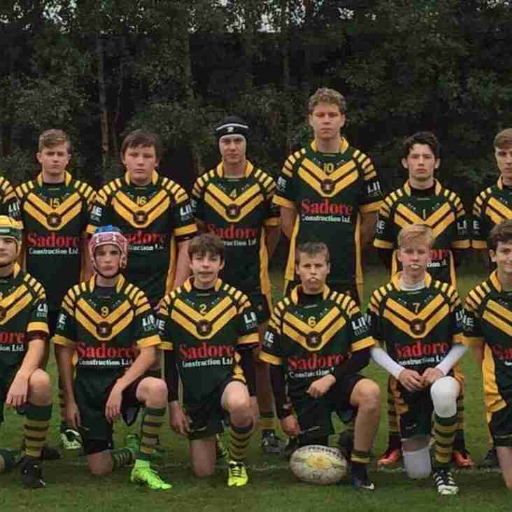 WOOLSTON ROVERS UNDER 14s READY FOR NWC PLATE FINAL