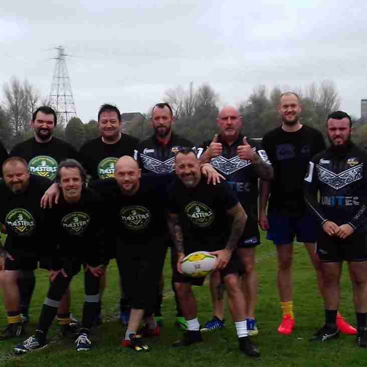 WOOLSTON ROVERS MASTERS TAKE PART IN TAG TOURNAMENT FOR ALEX GREEN