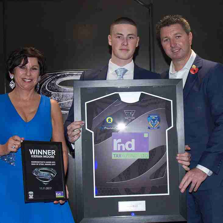 'MOORE THE MERRIER' AS ROVERS STAR KIERAN MAKES IT A HAT TRICK OF MAN OF STEEL AWARDS