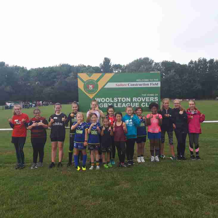 ROVERS OPENING GIRLS RUGBY LEAGUE ACADEMY SESSION A SUCCESS