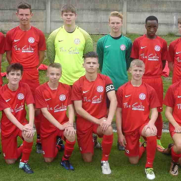 Parkgate FC Under 18's Cup Quarter  Final match..........