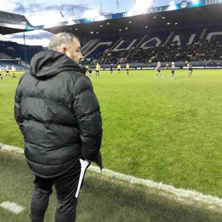Nev Hunt, University of Sheffield Mens Football Coach has joined Parkgate FC ......