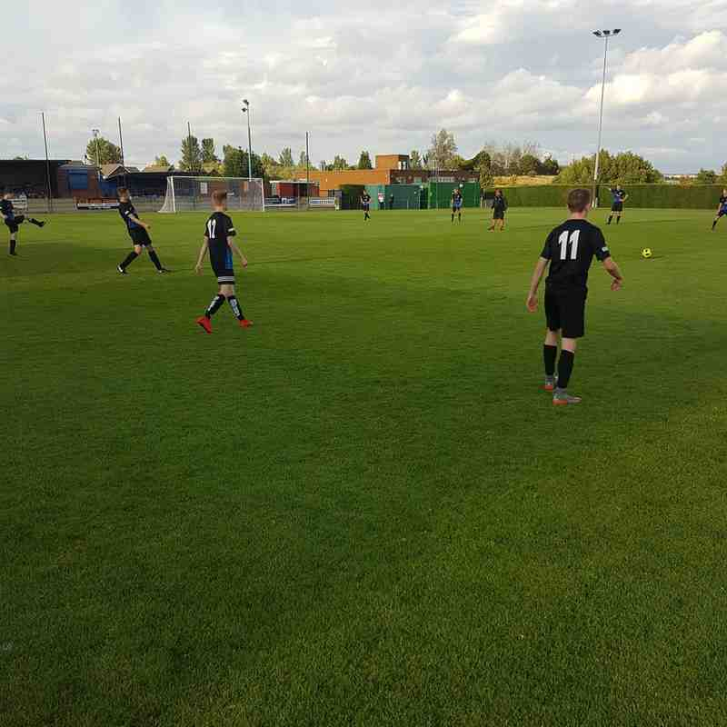 Parkgate Youth rebrand game 13/8/18