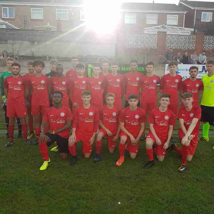 Narrow defeat for Parkgate Under-18's in Loxley.......