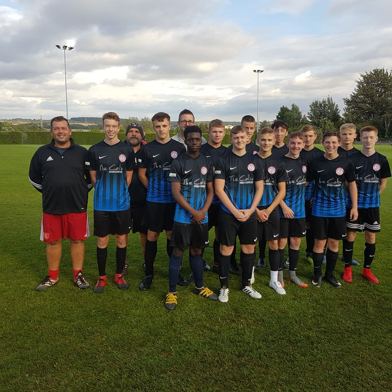 Under 17's played a friendly match @ Cawthorne against Penistone U17......