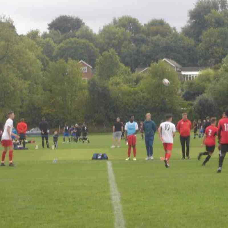 Under 18's vs Sheffield FC 9/9/18
