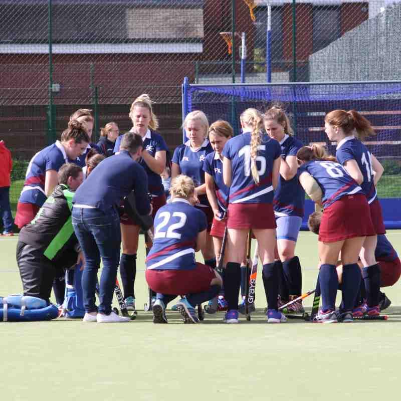 Ladies 1 vs Rugby & East Warks 30.09.17