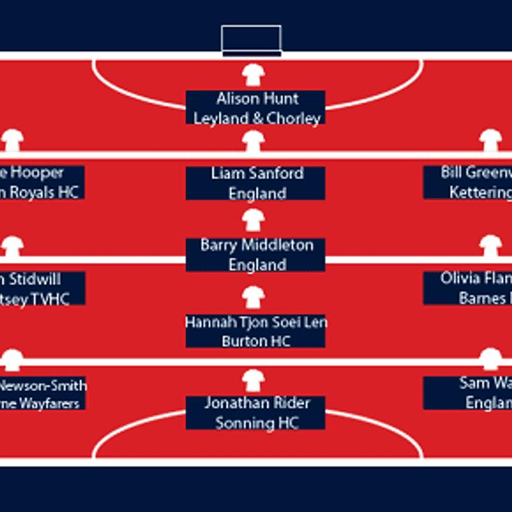 Club Legend makes the England Hockey Team of the week!