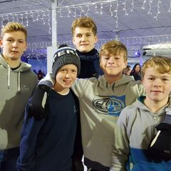 Juniors Christmas Ice Skating 2017