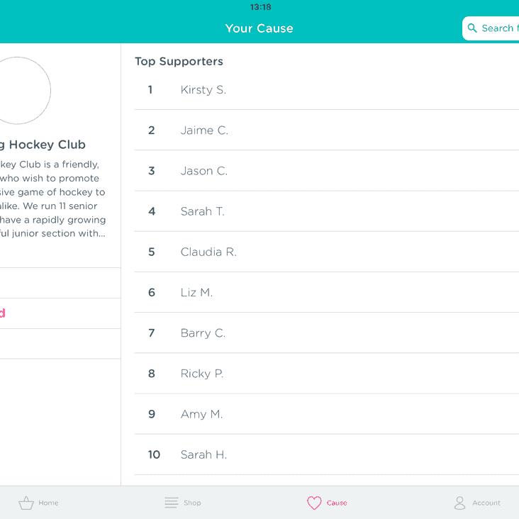 Easyfundraising update