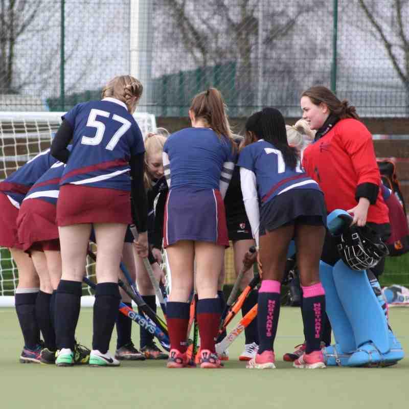 Ladies 4 vs Saints 3 17.02.18
