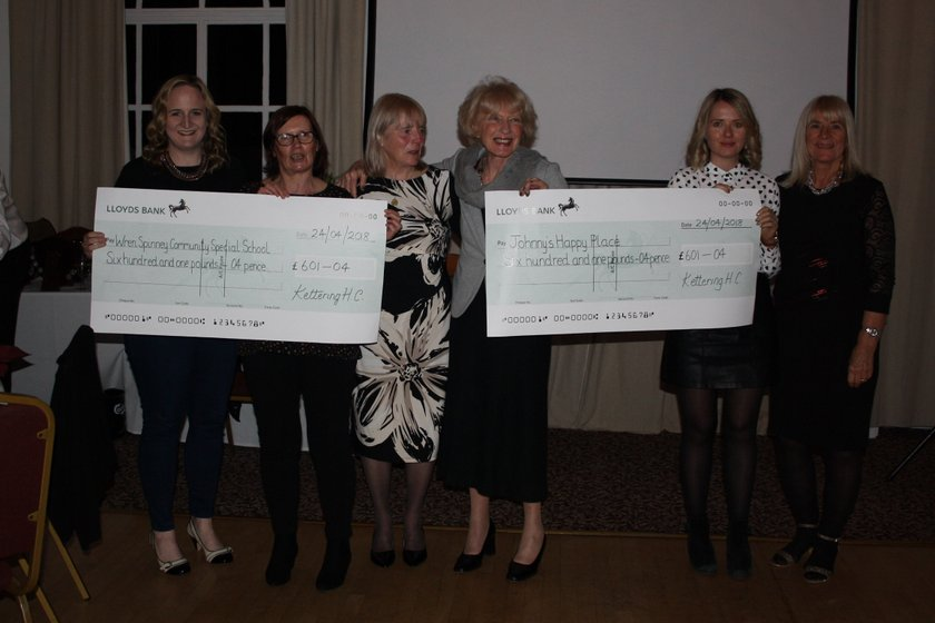 Charities benefit from KHC fundraising