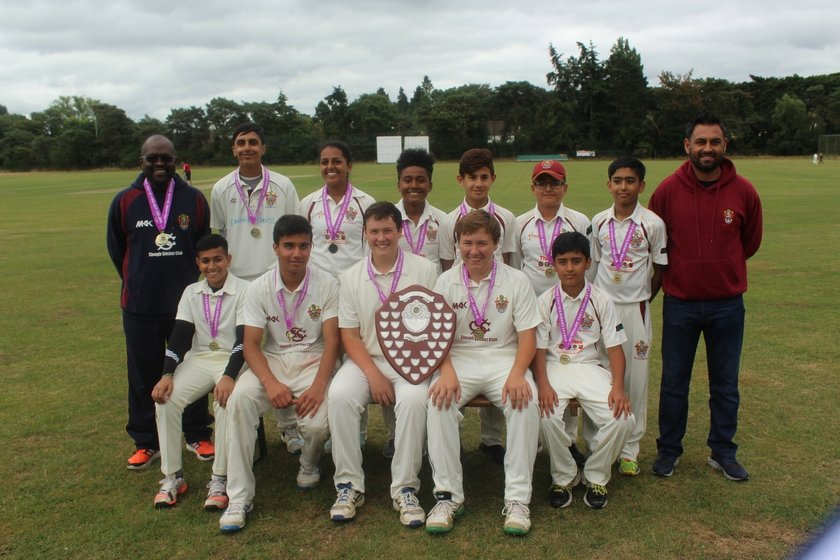 Slough CC - U15 Tigers 96/8 - 98 Boyne Hill CC - Under 15
