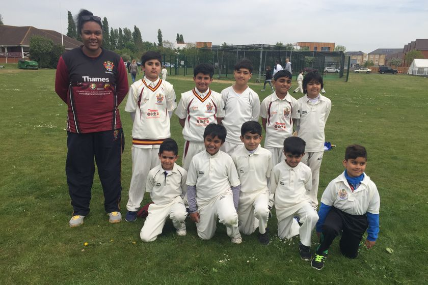 Braywood CC - Under 9 246/8 - 244/5 Slough CC - U9 Tigers