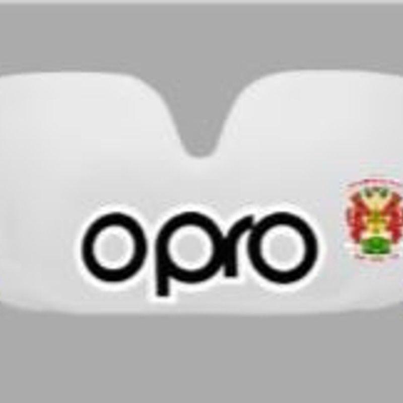 Sunday 2nd September   OPRO Mouth Guards