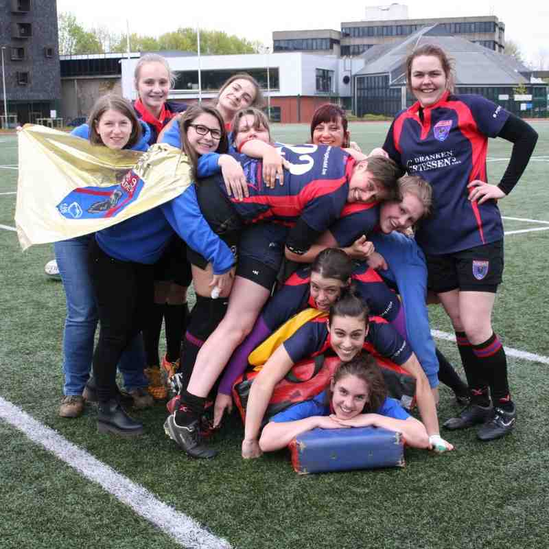 BBFRC Celtic Brussel - RC9 Ladies 49 - 0 (30/04/2016)