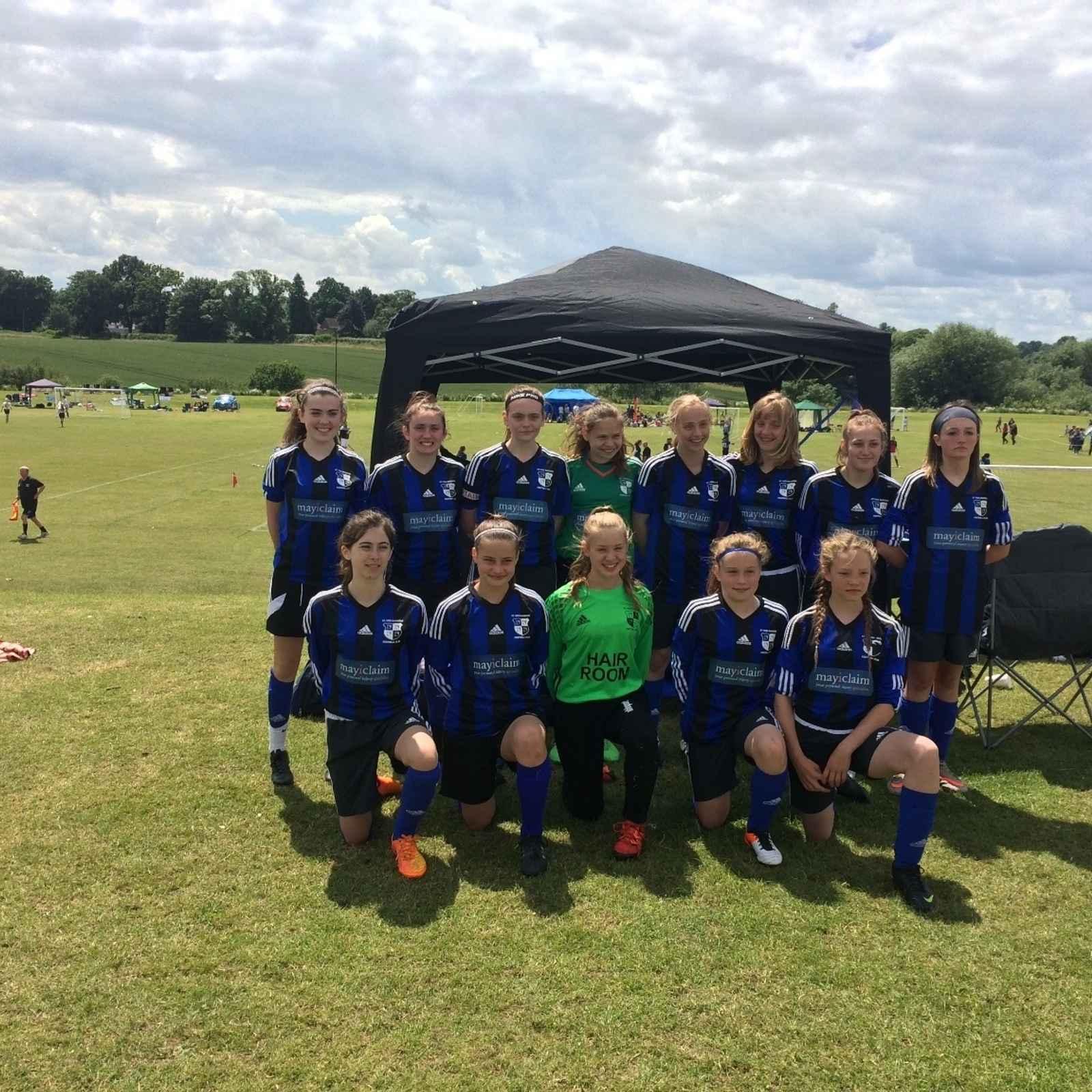 St Ives Rangers U14 Girls Tournaments 2016