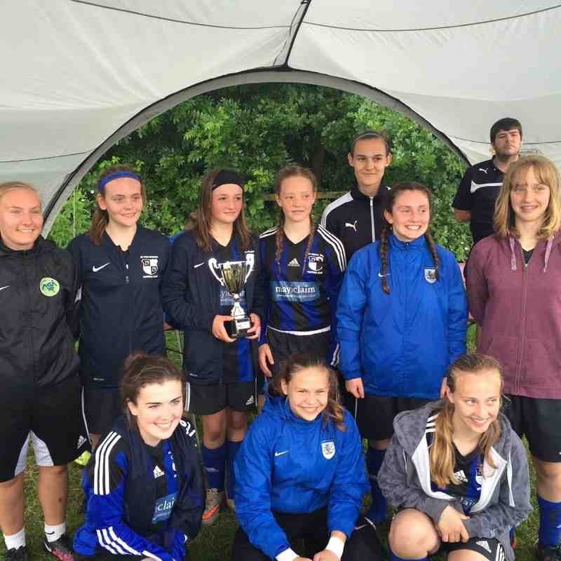 Leicester City Tournament winners!