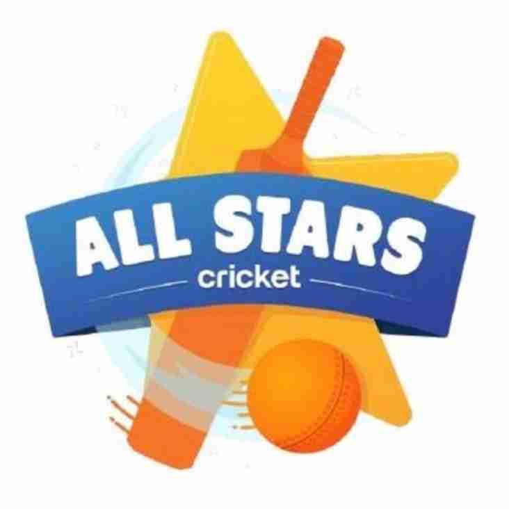 All Stars Cricket - for children aged 5-8