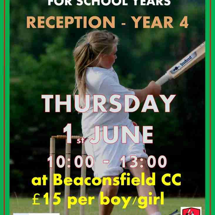 Half Term Cricket Camp - Reception to Year 4