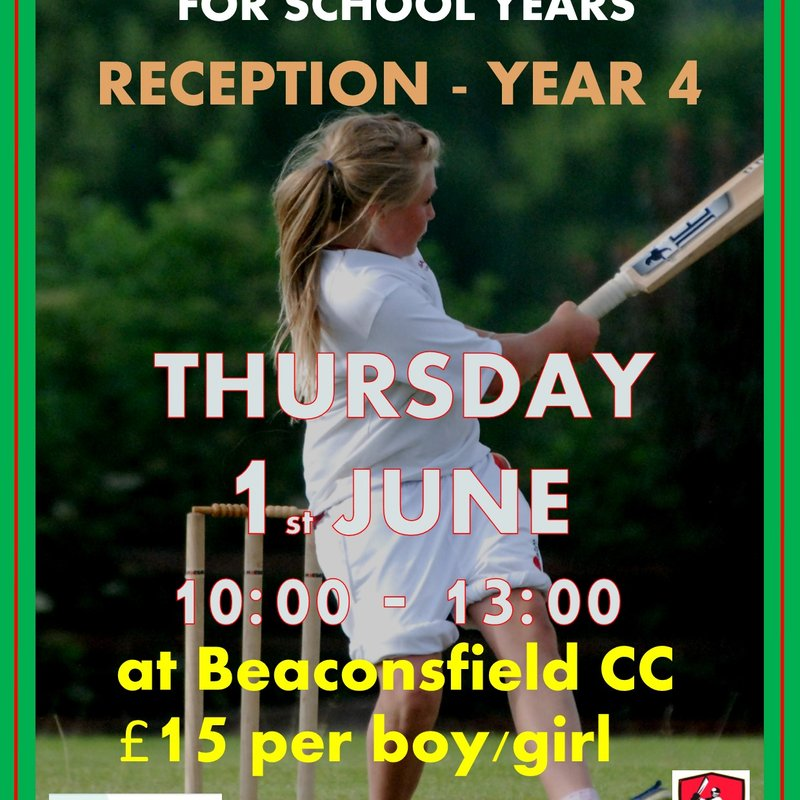 Half Term Cricket Camp - Reception to Year 4