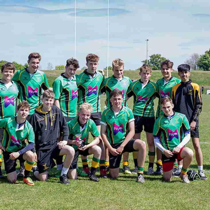Bracknell U15s Victorious at Newbury 7s