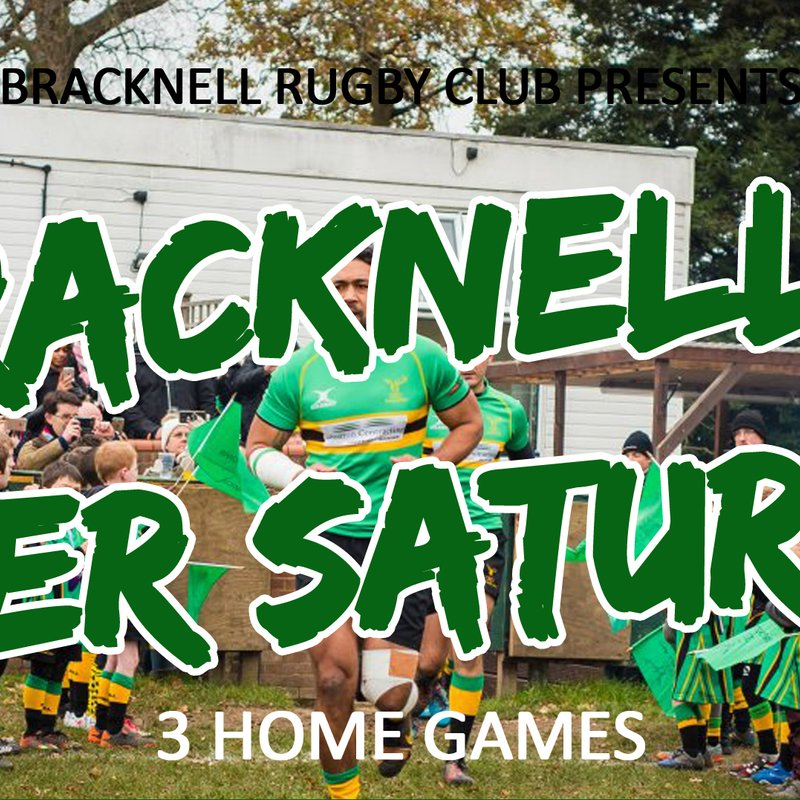 BRFC SUPER SATURDAY - SATURDAY 24TH MARCH