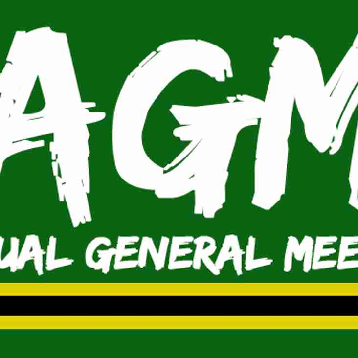 ANNUAL GENERAL MEETING - 16th May
