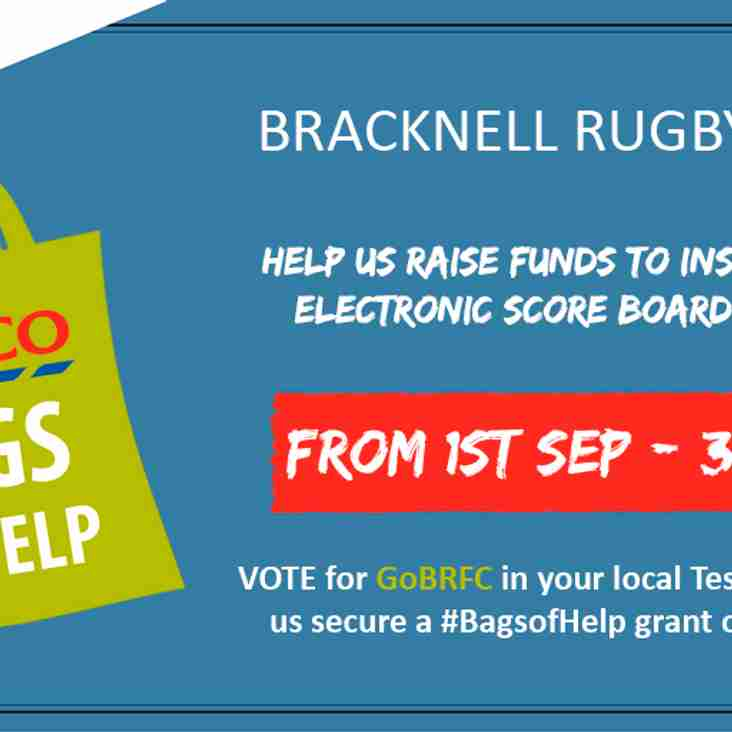 BRFC calls out for votes to bag a share of Tesco's bag fund