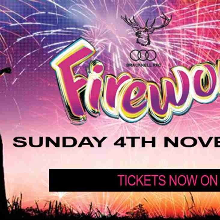 Fireworks Tickets Now On Sale