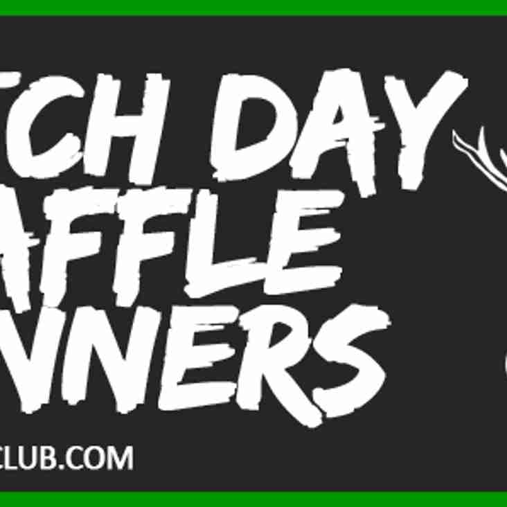 Match Day Raffle Winners